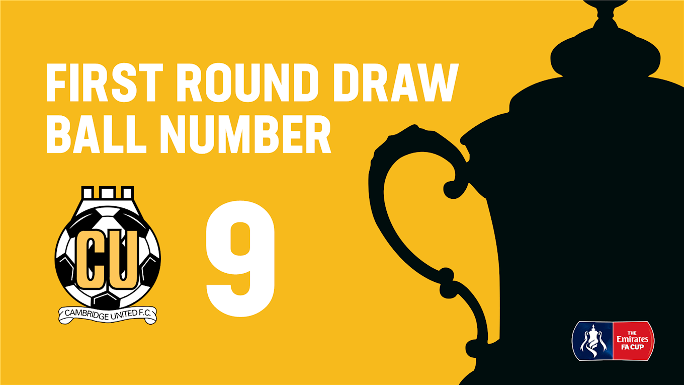 Emirates Fa Cup U S Ball Number 9 In Tonight S First Round Draw