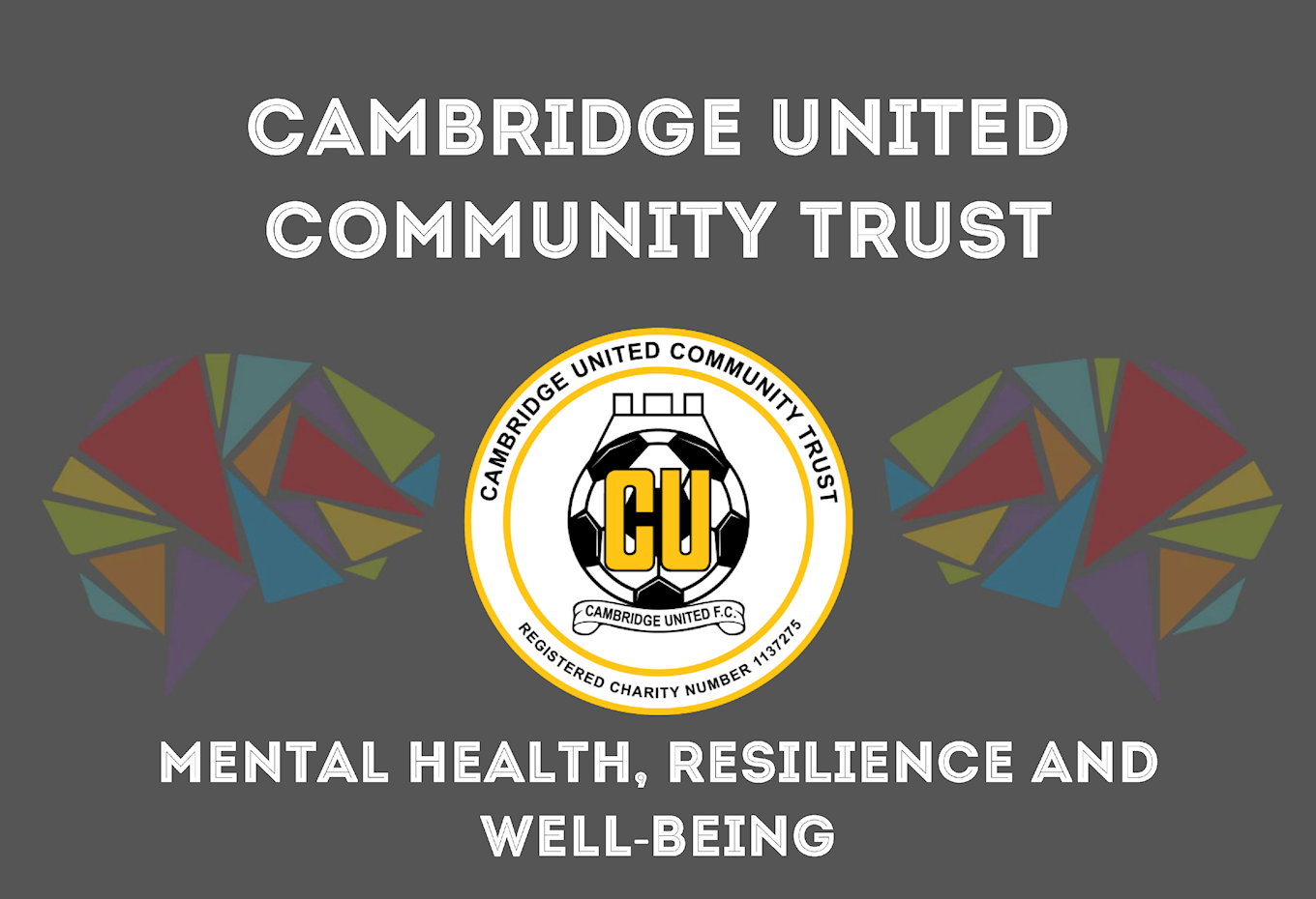 Cambridge United Establish School Mental Health Project Mind Your