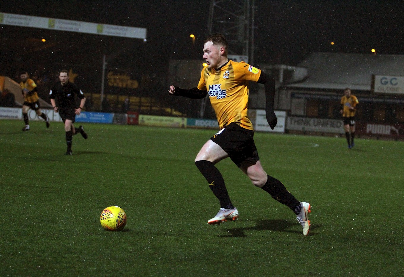 GEORGE MARIS SIGNS NEW TWO YEAR DEAL - News - Cambridge United   George Maris
