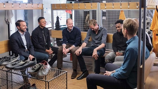 A ROYAL TEAM TALK | NEW BBC FILM TACKLES THE IMPORTANCE OF TALKING
