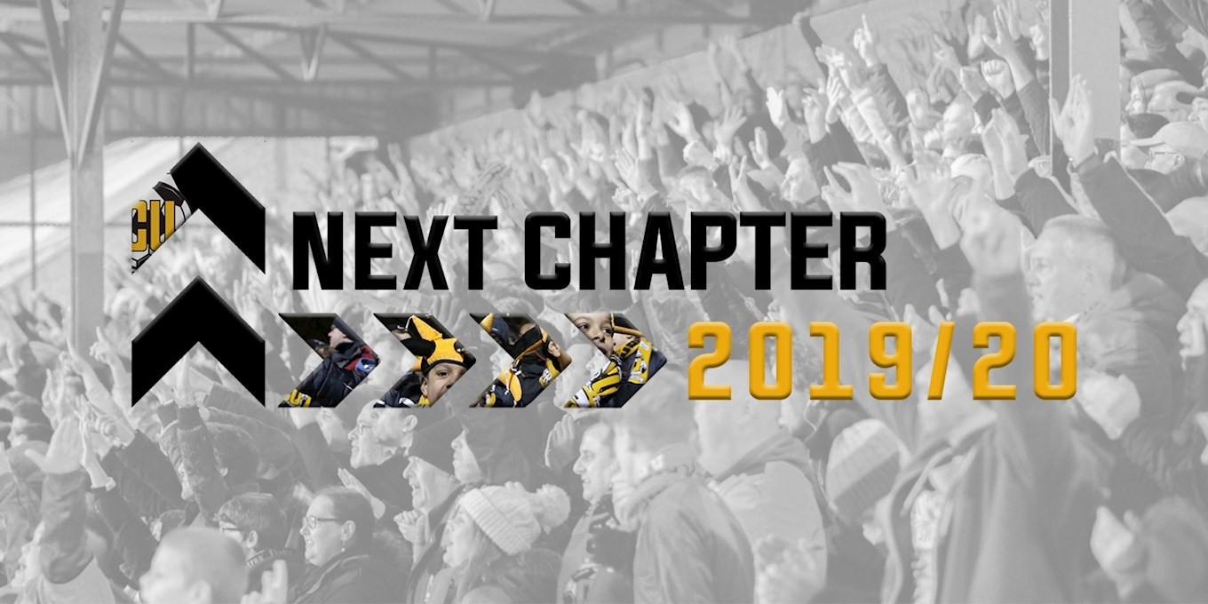 The Next Chapter >> Cambridge United Launch The Next Chapter Campaign News