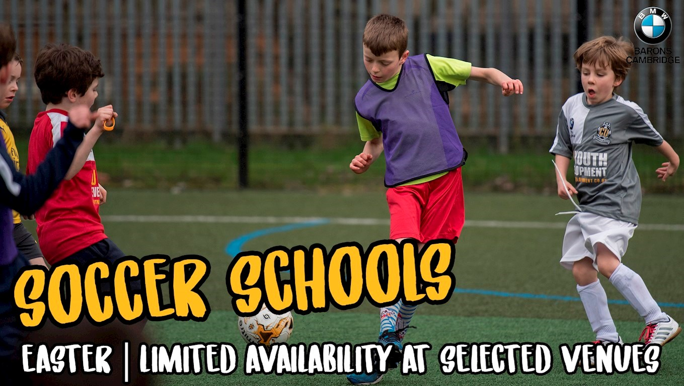 5b1d9f88a LIMITED SPACES AVAILABLE AT SELECTED VENUES FOR EASTER SOCCER SCHOOLS!