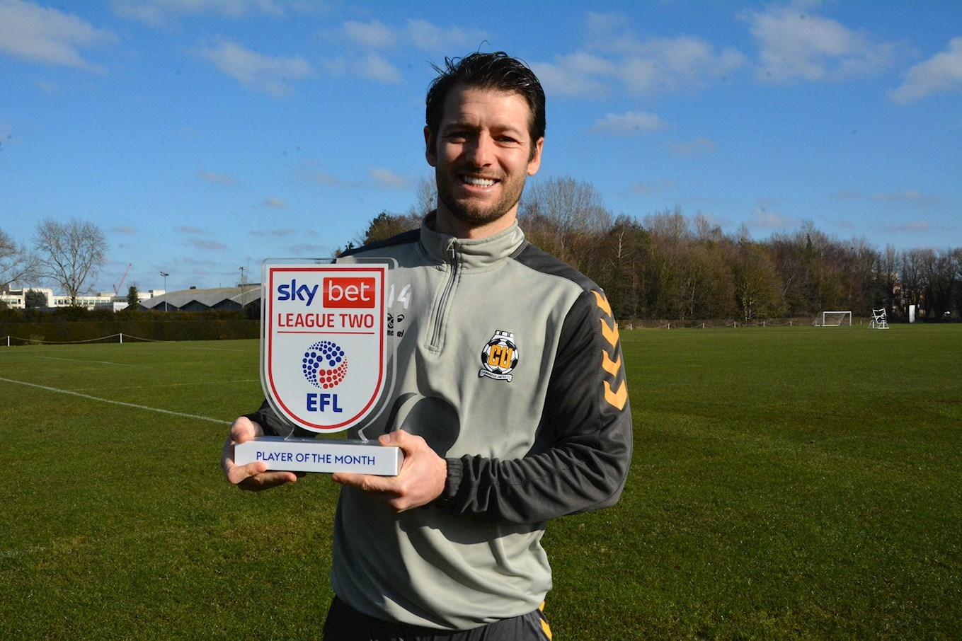 Image result for wes hoolahan player of the month cambridge